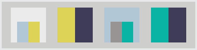 FLUIDITÀ - TRASPARENZA - ORGANICITÀ Colori: Bianco ghiaccio, Azzurro cielo, Grigio piombo, Verde turchese, Giallo fluo, Blu notte.