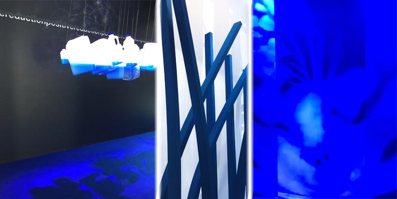 Trend Area, Blue Color