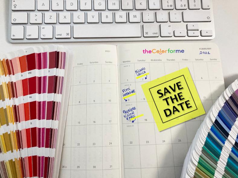 color trend fiere digitali save the date